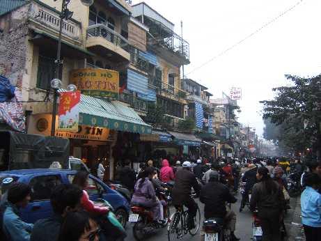 Hanoi (Vietnam) - Calle del centro de laciudad
