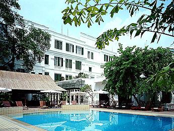 Hotel Sofitel Metropole, Hanoi (Vietnam) - vista de lapiscina