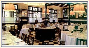 Restaurante 7 Portes - Barcelona - Detalle deMesas