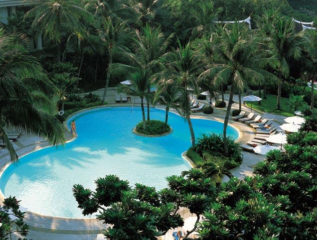 Hotel Shangri-La, Bangkok - piscinaexterior