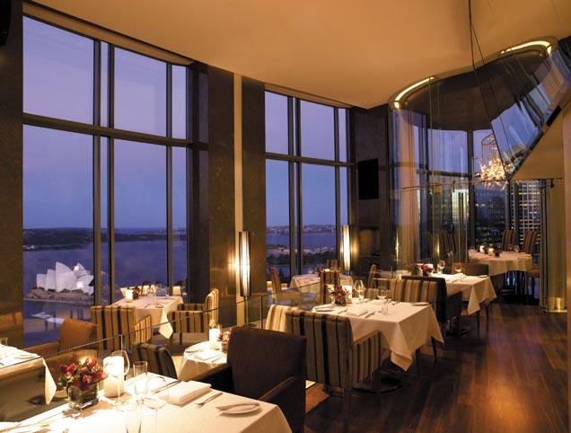 Hotel Shangri-La Sydney - Restaurante plantasuperior
