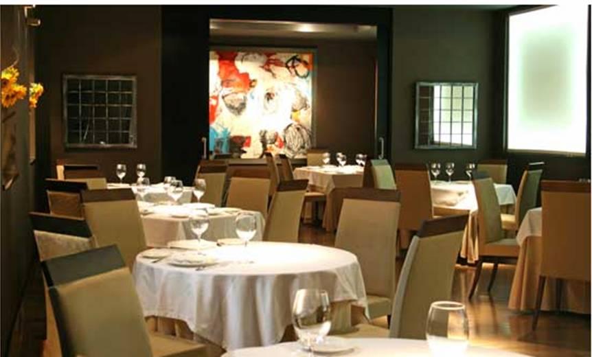 Restaurante Astrid y Gastón - Madrid - Detalle de lasMesas