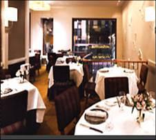 Restaurante Aureole - Mesas