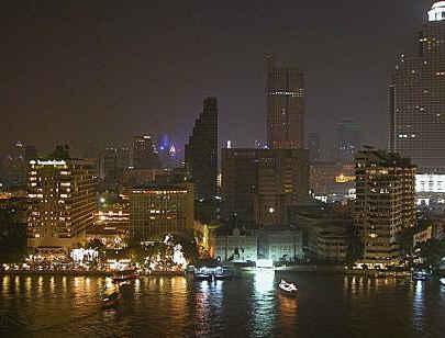 Bangkok (Thailandia) - vista de laciudad