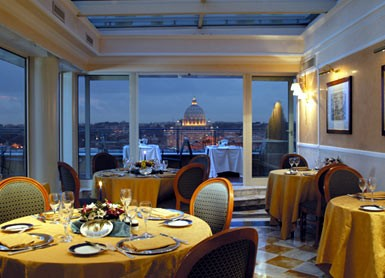 Hotel Bernini - Roma, restaurante