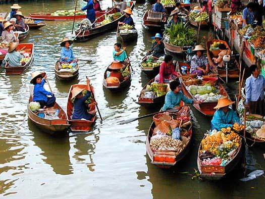 Bangkok (Thailandia) - Mercadoflotante