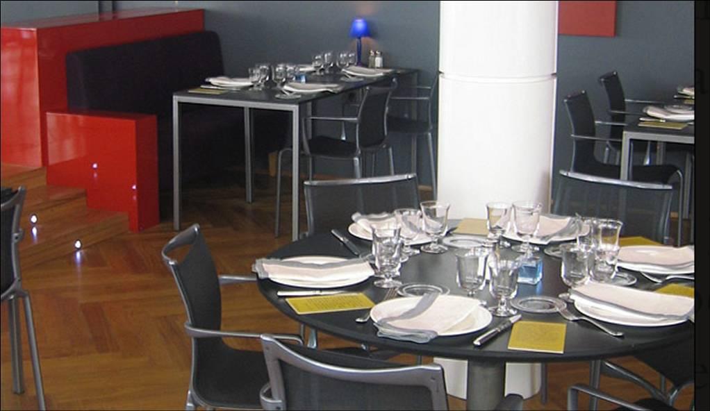 Restaurante del Hotel de las Letras - Madrid -Mesas