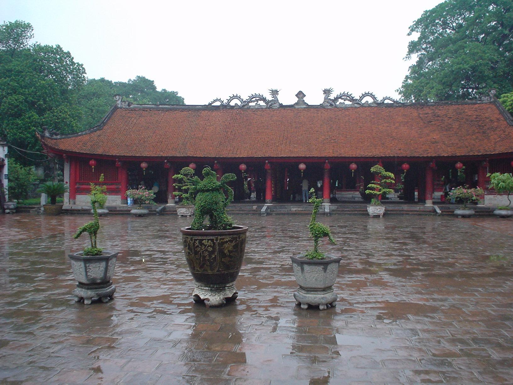 Hanoi (Vietnam) - Templo de laLiteratura