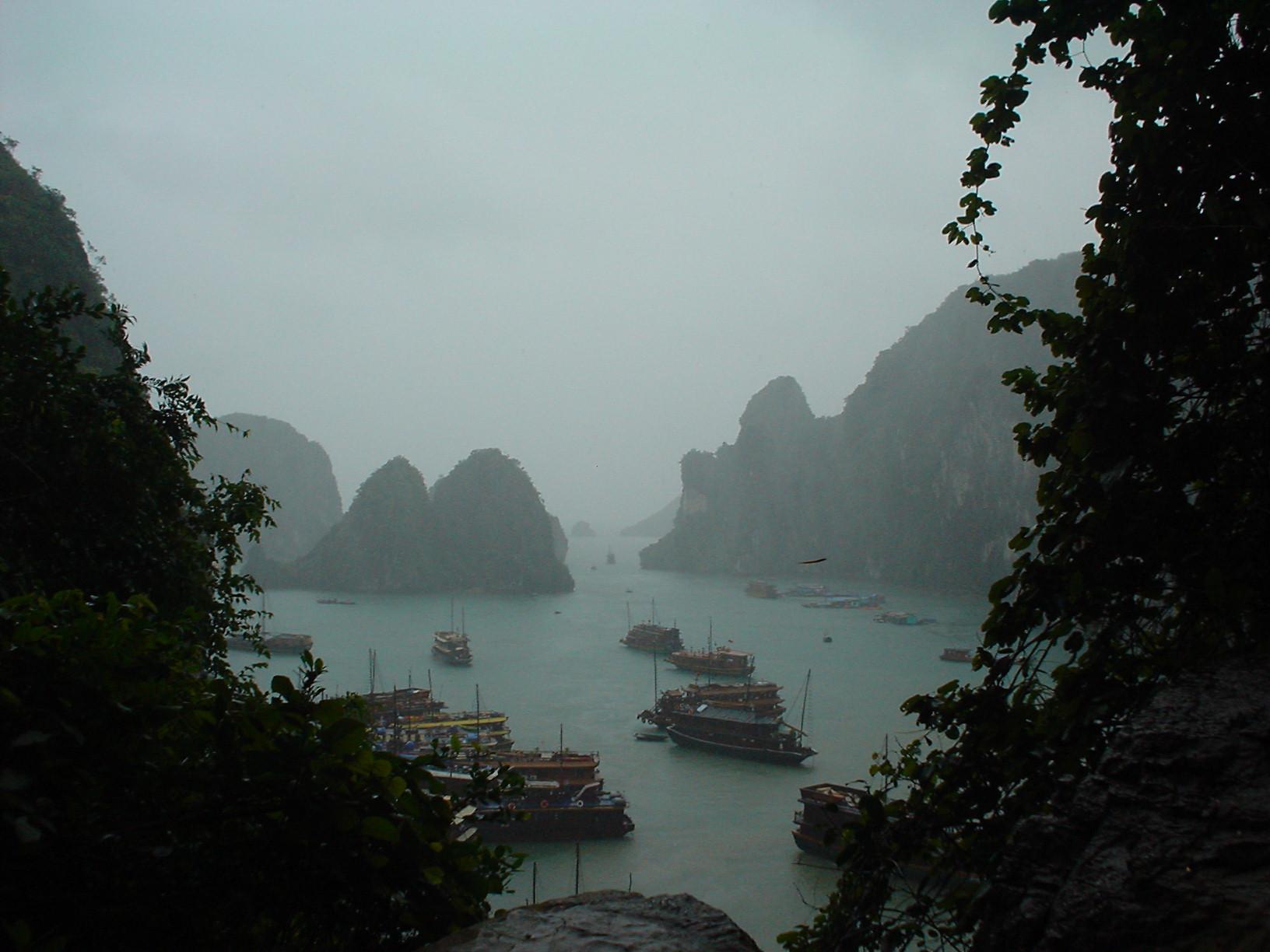 Halong Bay - Bahia de Halong (Vietnam) - Vista desde Hang DauGo