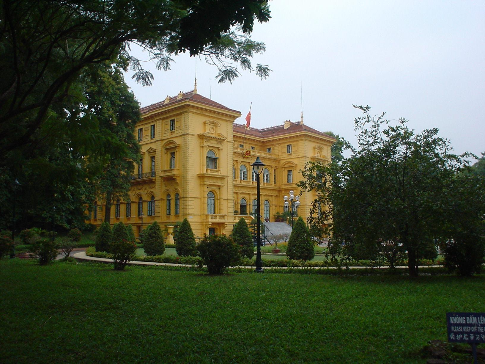 Hanoi (Vietnam) - Palacio deHo-Chi-Minh