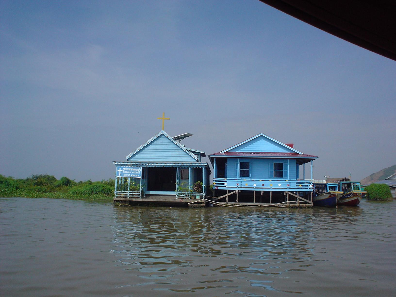 Siem Reap (Camboya) - Lago TonleSap