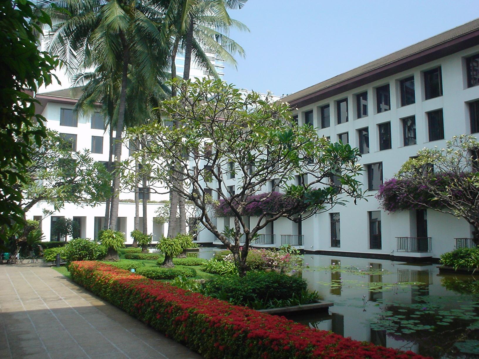 Hotel Sukhothai, Bangkok - vistaprincipal