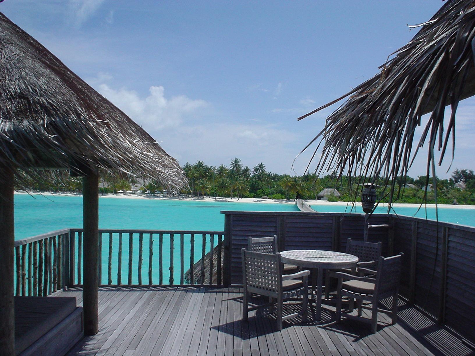 Hotel Soneva Gili, Maldivas - vista desde la terraza de lavilla