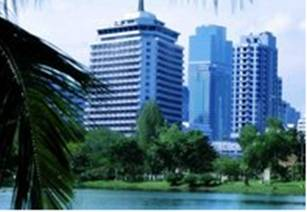 Hotel Dusit Thani - Bangkok - Vistaexterior