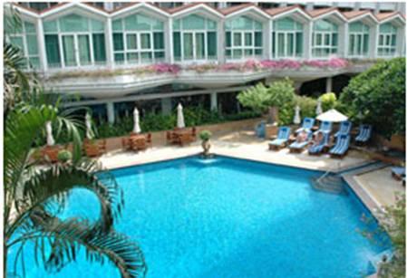Hotel Dusit Thani - Bangkok -Piscina