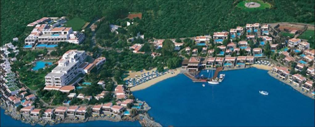 Hotel Elounda Beach - Creta - VistaAérea
