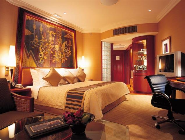 Hotel Shangri-La, Bangkok-habitacion
