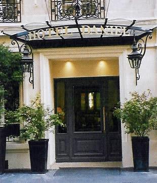Hotel Daniel, Paris (Francia) -Entrada