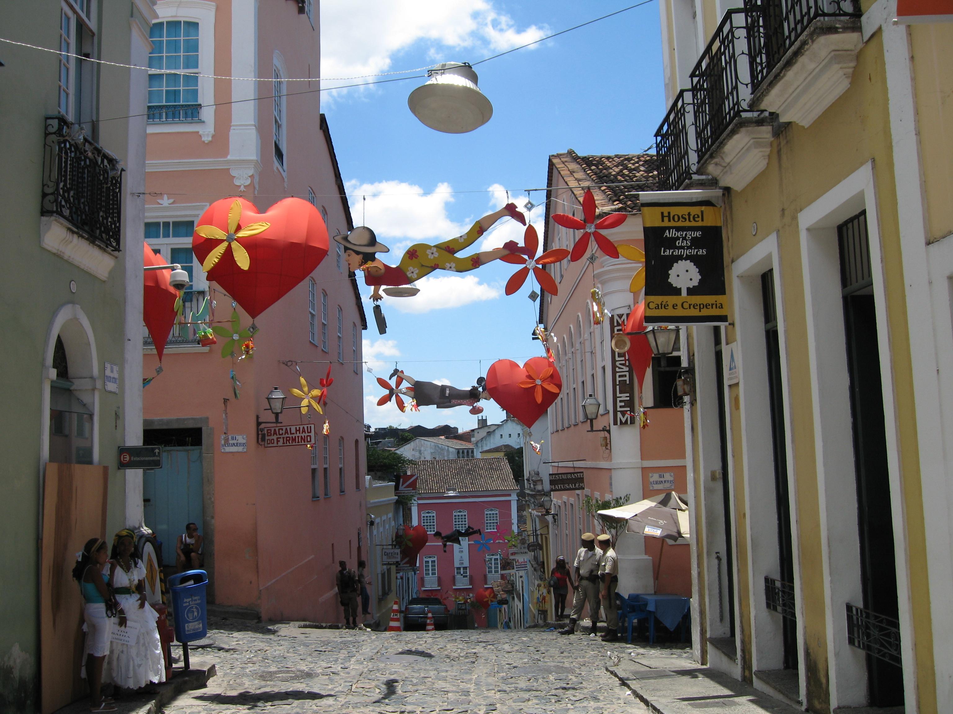 Salvador de Bahia (Brasil) - Calle delPelourinho