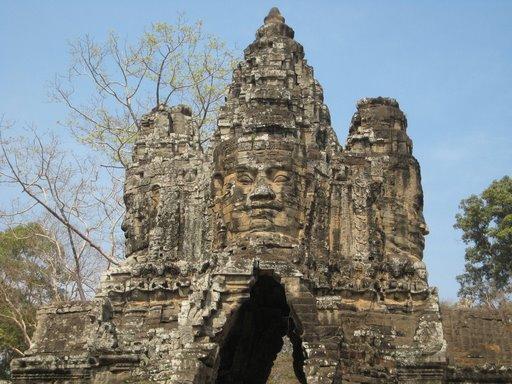 Siem Reap (Camboya) - Templo deBayon