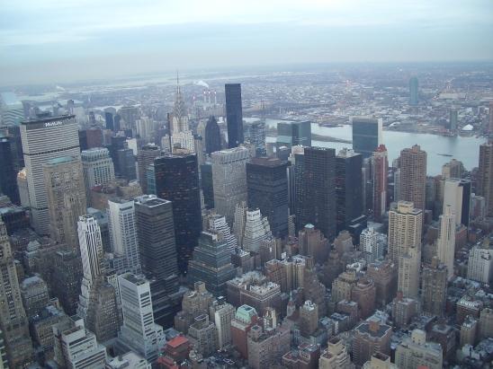 Nueva York (Estados Unidos) - vista deManhattan