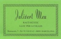 Restaurante Julivert Meu - Barcelona - Logo