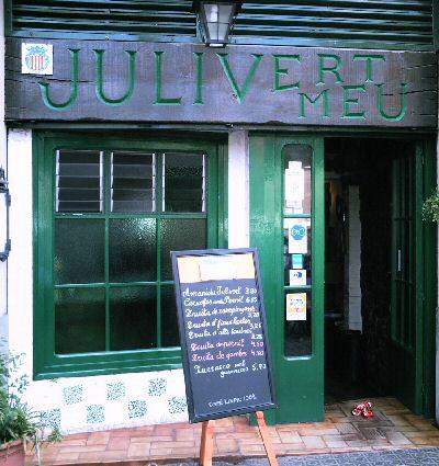 Restaurante Julivert Meu - Barcelona - Entrada