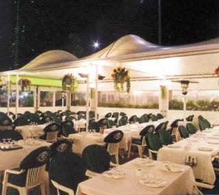 Restaurante La Barca del Salamanca – Barcelona -Terraza