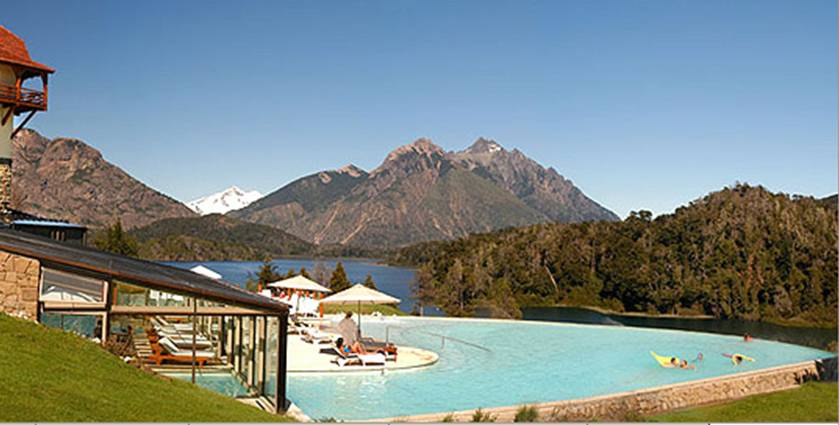 Hotel Llao Llao - Bariloche - PiscinaExterior