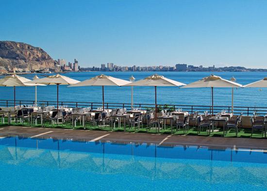 Hotel Meliá Alicante -Piscina
