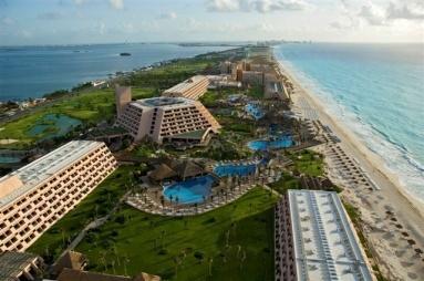 Hotel Oasis Cancun - FotoAérea