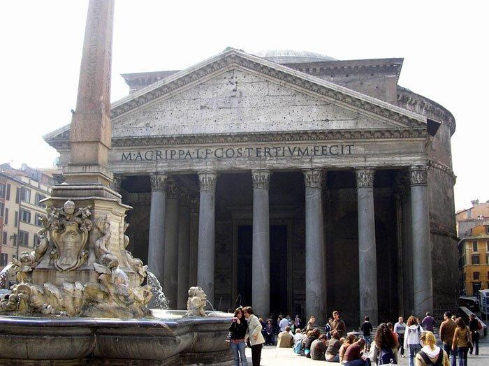 Roma (Italia) - Panteon deAgrippa