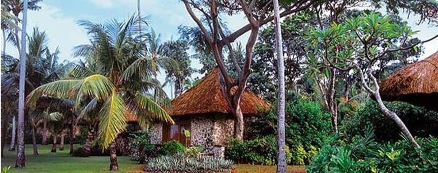 Hotel Oberoi Bali - Vista exterior yjardines