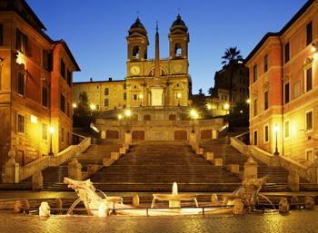 Piazza di Spagna (Plaza de España),Roma