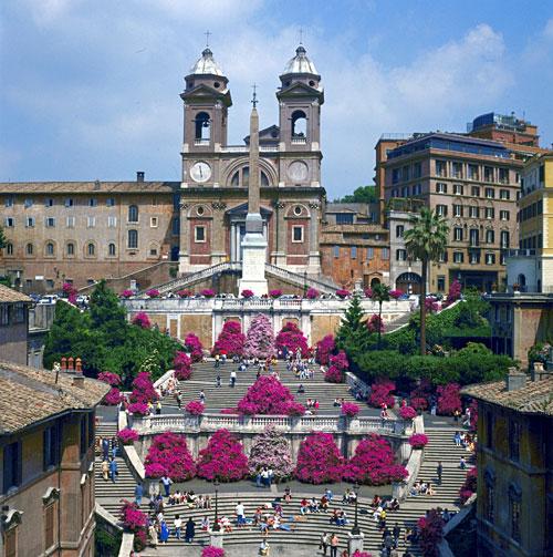 Roma (Italia) - Plaza deEspaña