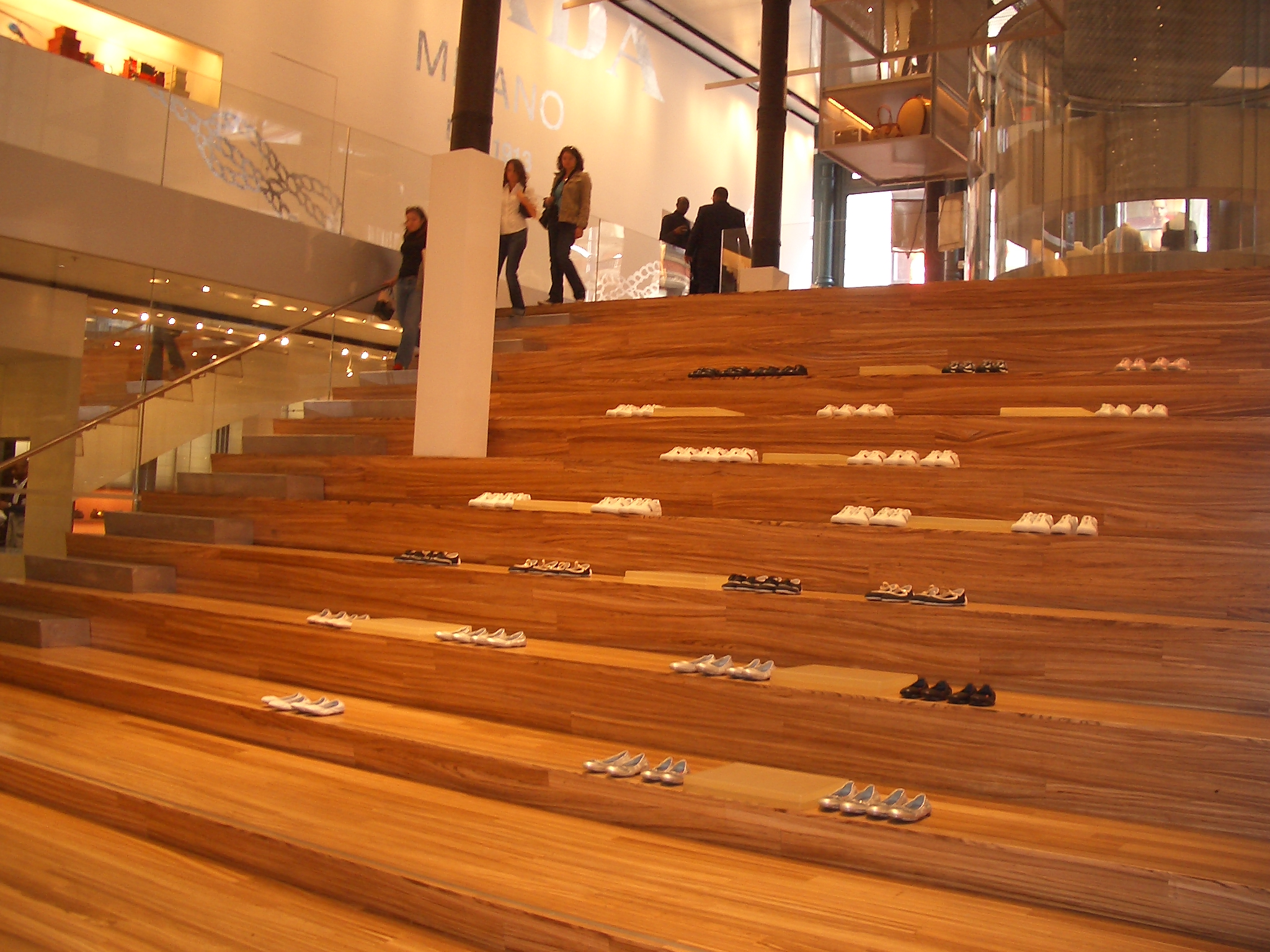 Nueva York (Estados Unidos) - Tienda de Prada en elSoho