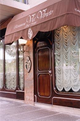 Restaurante Via Veneto - Barcelona -Entrada
