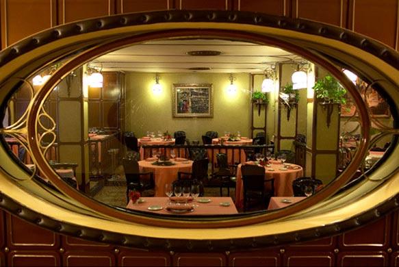 Restaurante Via Veneto - Barcelona - Salónprincipal