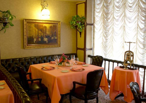 Restaurante Via Veneto - Barcelona - Detalle deMesa