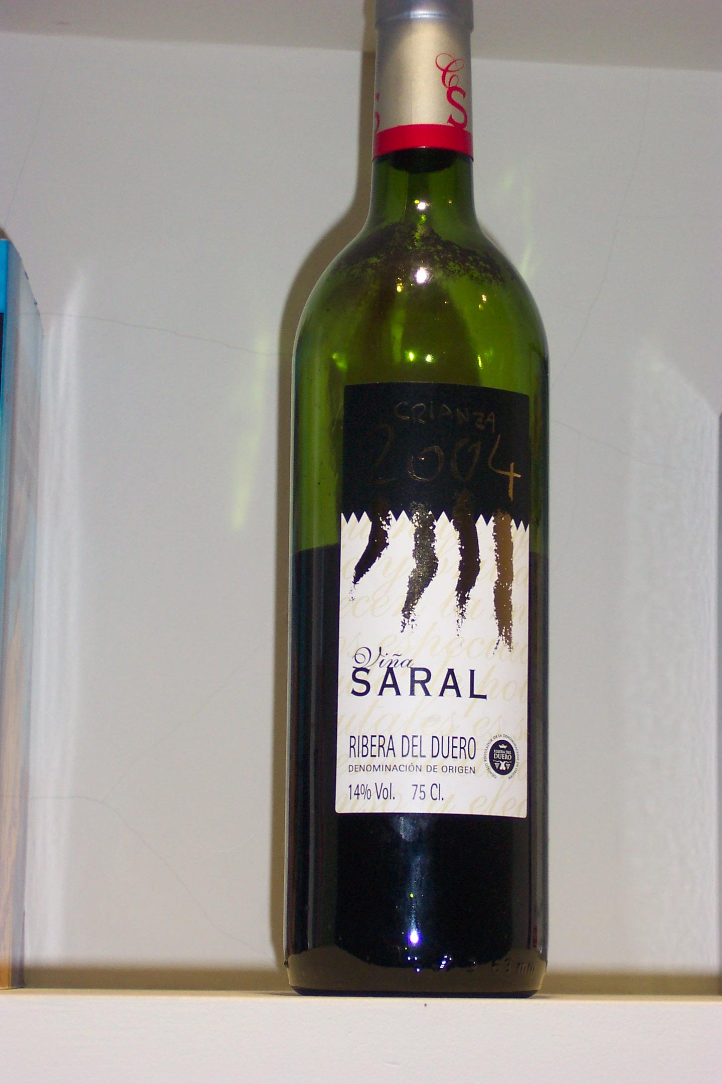 Vino Viña Saral - Ribera delDuero