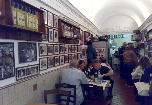 Restaurante La Montecarlo, Roma (Italia) - vistadelcomedor