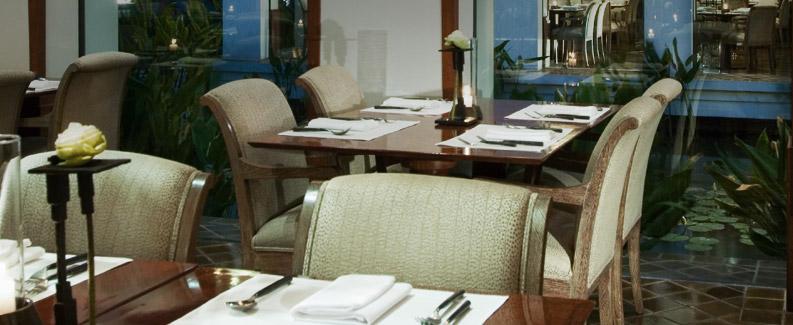 Restaurante Celadon - Hotel Sukhothai; Bangkok(Thailandia)