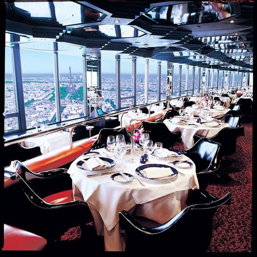 Restaurante Le Ciel de Paris -Mesas