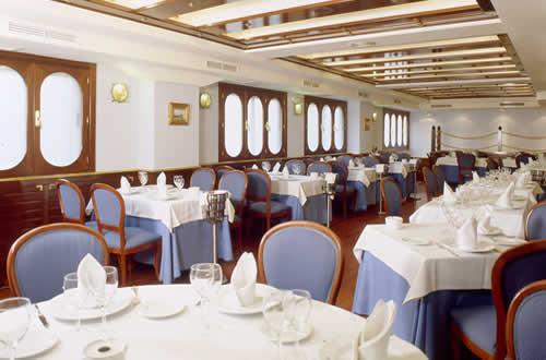 Restaurante O Cruceiro - Detalle demesas