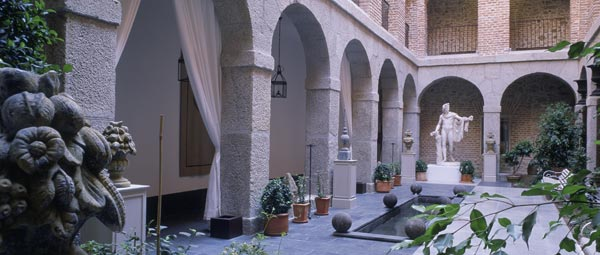 Parador de La Granja - Patio interior