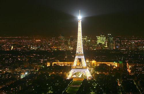 Restaurante Le Ciel de Paris - Vista de la TourEiffel