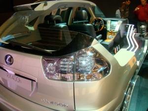 Interior del Lexus