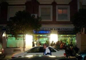 Restaruratnte Marisquer�a El Cantábrico - Entrada al local