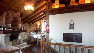 Restaurante Kate Zaharra - Comedor Superior con mesa redonda