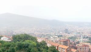 Restaurante Kate Zaharra - Terraza Exterior - Vista sobre Bilbao